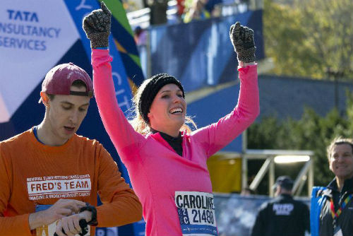 Người đẹp Wozniacki gây ấn tượng ở giải marathon - 3