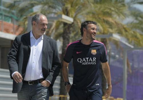 Sau trận thua sốc, BLĐ Barca gặp riêng Luis Enrique - 1