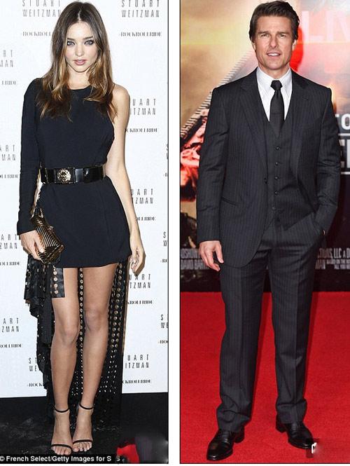 Miranda Kerr bị đồn bỏ đại gia, yêu Tom Cruise - 1