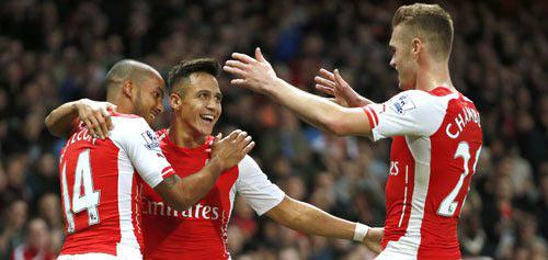"""Arsenal vào top 4: Pháo thủ giờ mới """"nóng máy"""" - 2"""