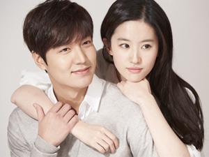 Lee Min Ho, Lưu Diệc Phi ngọt ngào trong bộ ảnh tình nhân