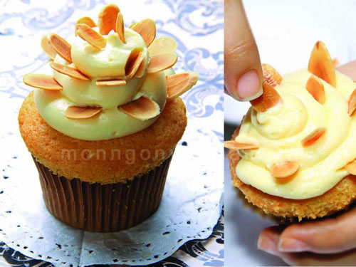 Bí quyết để cupcake hạnh nhân ngon tuyệt hảo - 1