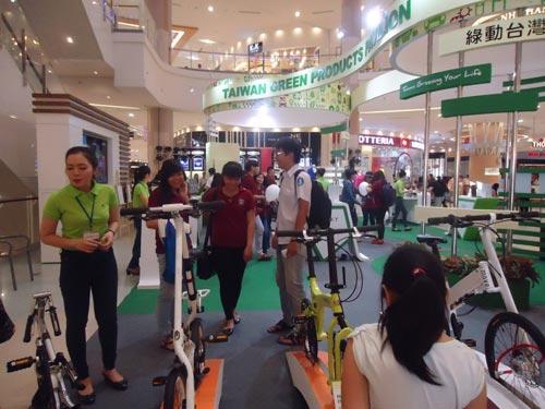 Hàng loạt sản phẩm độc đáo tại Triển lãm công nghiệp xanh Đài Loan - 1