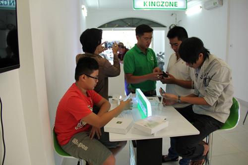 Kingzone K1 - Smartphone có thiết kế đẹp và sang - 2