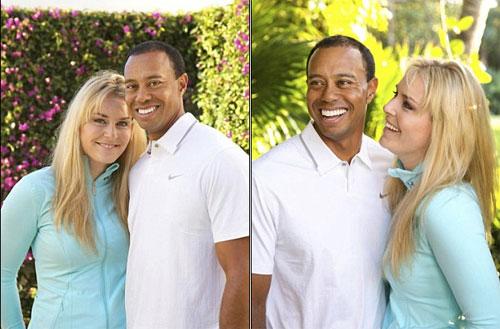 Tiger Woods cặp với mỹ nhân trượt tuyết - 1