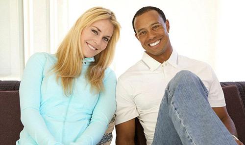 Tiger Woods cặp với mỹ nhân trượt tuyết - 2