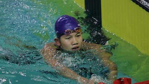 Ánh Viên đứng thứ tư cự ly 800m Olympic trẻ - 1