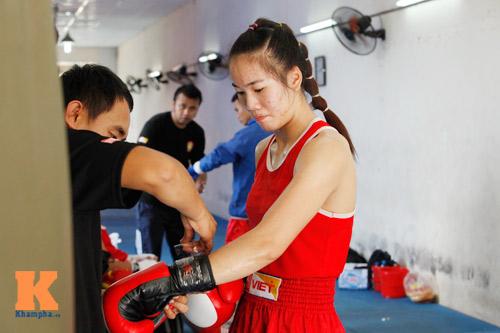 Nữ võ sĩ boxing Lừu Thị Duyên mơ vô địch ASIAD 17 - 2