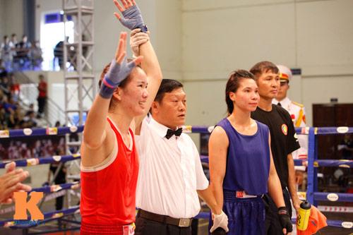 Nữ võ sĩ boxing Lừu Thị Duyên mơ vô địch ASIAD 17 - 10