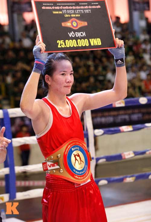 Nữ võ sĩ boxing Lừu Thị Duyên mơ vô địch ASIAD 17 - 11
