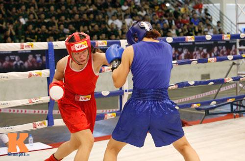 Nữ võ sĩ boxing Lừu Thị Duyên mơ vô địch ASIAD 17 - 4