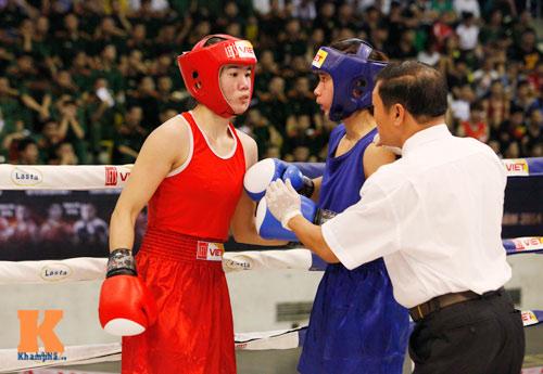 Nữ võ sĩ boxing Lừu Thị Duyên mơ vô địch ASIAD 17 - 6