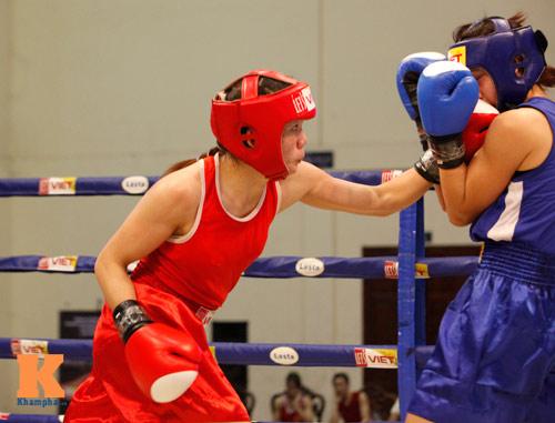 Nữ võ sĩ boxing Lừu Thị Duyên mơ vô địch ASIAD 17 - 5