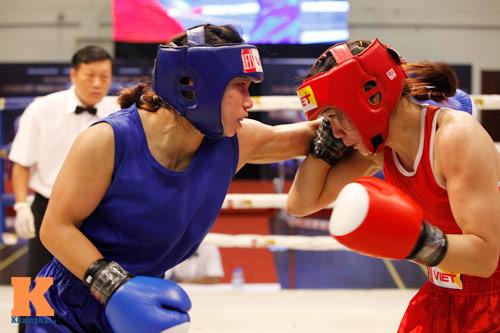 Nữ võ sĩ boxing Lừu Thị Duyên mơ vô địch ASIAD 17 - 1