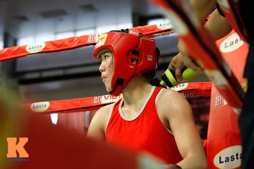 Nữ võ sĩ boxing Lừu Thị Duyên mơ vô địch ASIAD 17 - 7