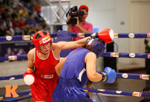 Nữ võ sĩ boxing Lừu Thị Duyên mơ vô địch ASIAD 17 - 8