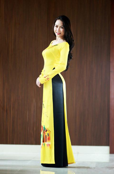 Hot girl Việt xinh đẹp trong tà áo dài - 10