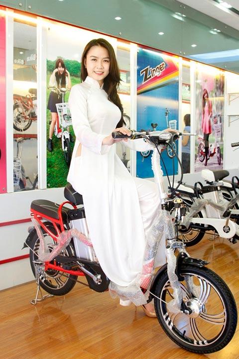 Hot girl Việt xinh đẹp trong tà áo dài - 13