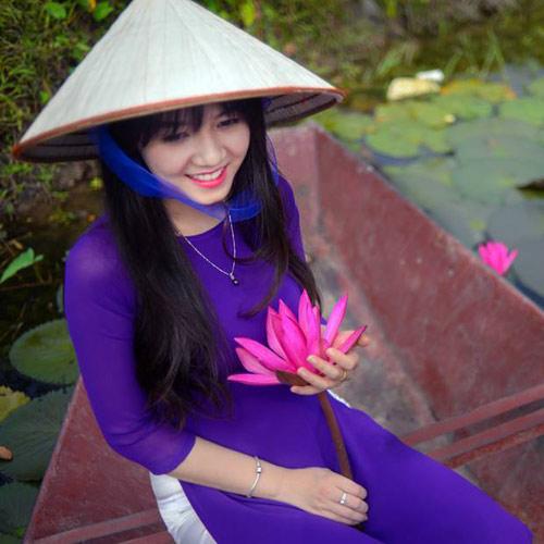 Hot girl Việt xinh đẹp trong tà áo dài - 14