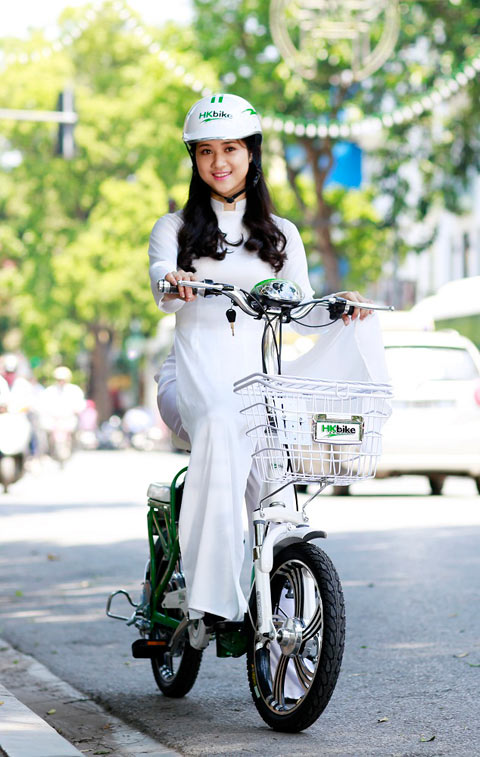 Hot girl Việt xinh đẹp trong tà áo dài - 3