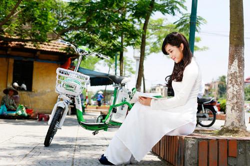 Hot girl Việt xinh đẹp trong tà áo dài - 4