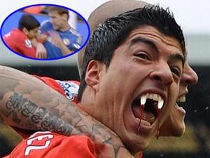 Clip chế về ngôi sao bóng đá Luis Suarez