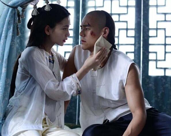 Người tình Huỳnh Hiểu Minh lả lơi yếm trắng - 9