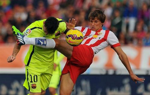 Almeria - Barca: Thế trận kịch tính - 1