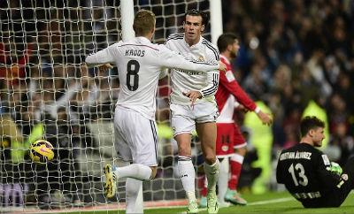 TRỰC TIẾP Real - Vallecano: Ronaldo tỏa sáng - 3