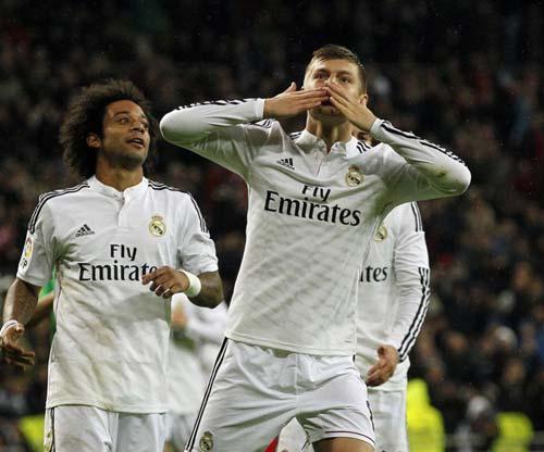Real không thay đổi khi Bale trở lại - 1