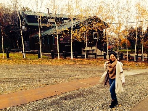 Lan Phương thích thú tận hưởng mùa thu Nhật Bản - 9