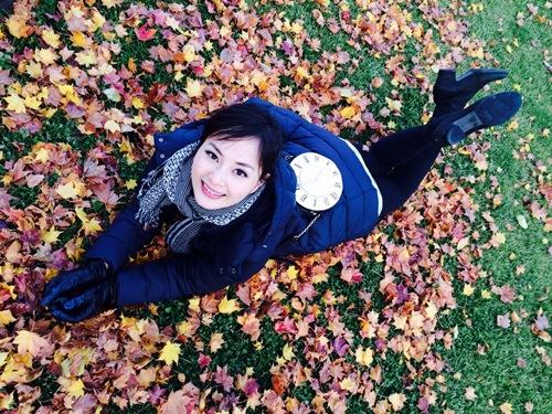 Lan Phương thích thú tận hưởng mùa thu Nhật Bản - 2