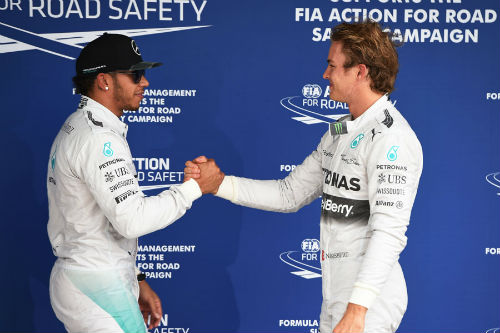 F1 - Phân hạng Brazilian GP: Rosberg đoạt pole thứ 10 - 1