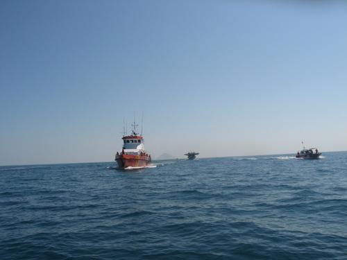 Khánh Hòa: Va chạm tàu hàng, 8 thuyền viên mất tích - 1