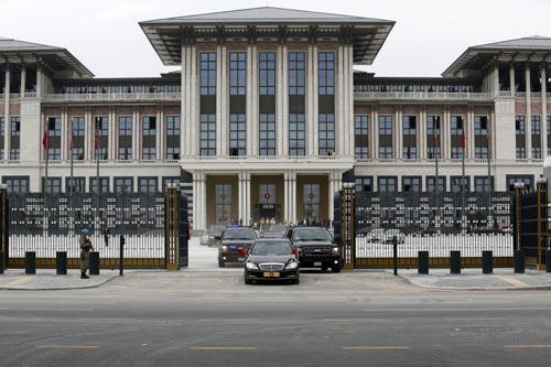 Ngắm dinh thự 1.000 phòng của Tổng thống Thổ Nhĩ Kỳ - 1