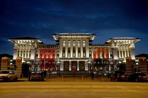 Ngắm dinh thự 1.000 phòng của Tổng thống Thổ Nhĩ Kỳ - 2