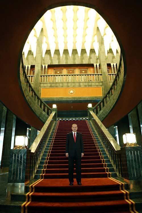 Ngắm dinh thự 1.000 phòng của Tổng thống Thổ Nhĩ Kỳ - 4