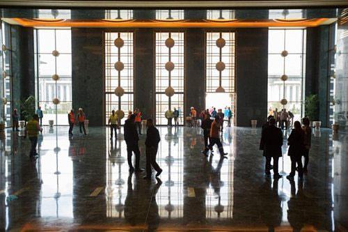 Ngắm dinh thự 1.000 phòng của Tổng thống Thổ Nhĩ Kỳ - 6