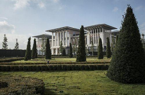 Ngắm dinh thự 1.000 phòng của Tổng thống Thổ Nhĩ Kỳ - 7