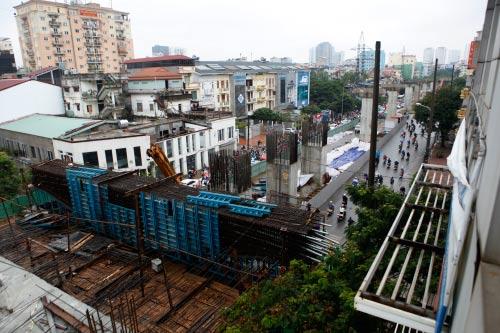 Bộ GTVT bác kiến nghị tiếp tục thi công đường sắt trên cao - 1