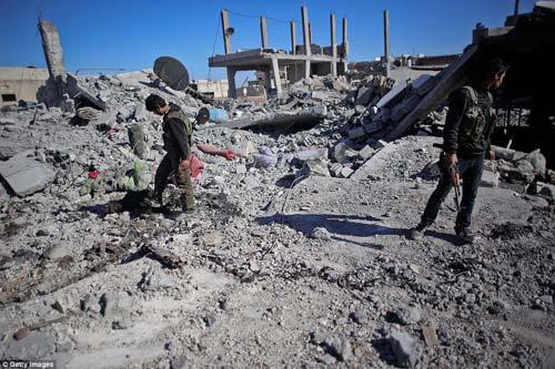 Hình ảnh chân thực về cuộc chiến chống IS tại Kobani - 6