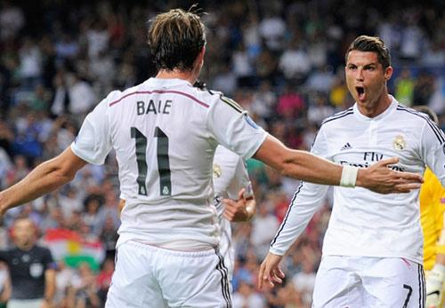 Bale muốn xuất sắc như Ronaldo và giành QBV - 1