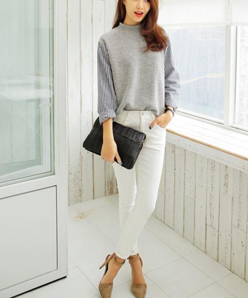 Mặc đồ tối giản thật sang và đẹp - 1