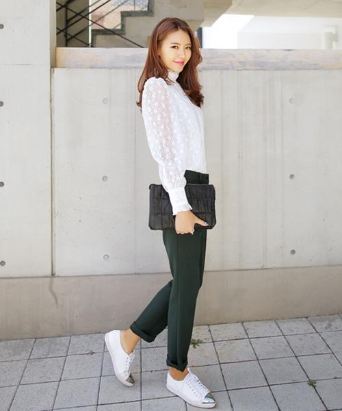 Mặc đồ tối giản thật sang và đẹp - 15