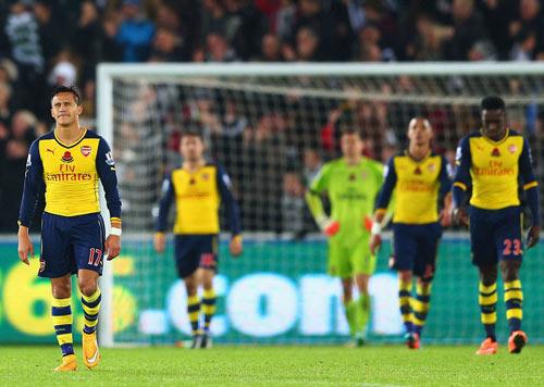 Wenger: Arsenal đã vứt bỏ trận đấu - 1