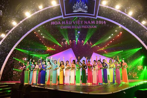 Top 20 thí sinh lọt vào chung kết Hoa hậu VN 2014 - 1