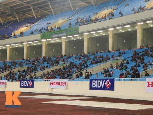 Vắng U19, sân Mỹ Đình đìu hiu ngày ĐT Việt Nam thi đấu - 5