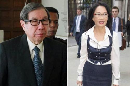 Cựu hoa hậu đòi ly dị chồng tỷ phú vì bị bạo hành - 1