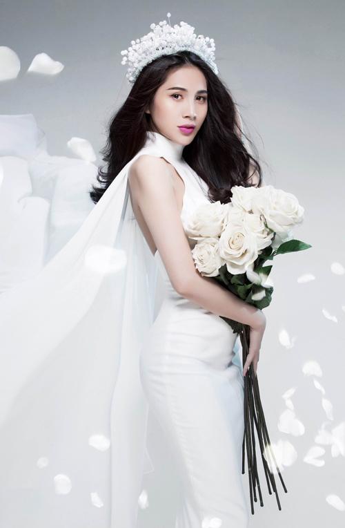 Thủy Tiên tung ảnh cô dâu úp mở đám cưới - 5