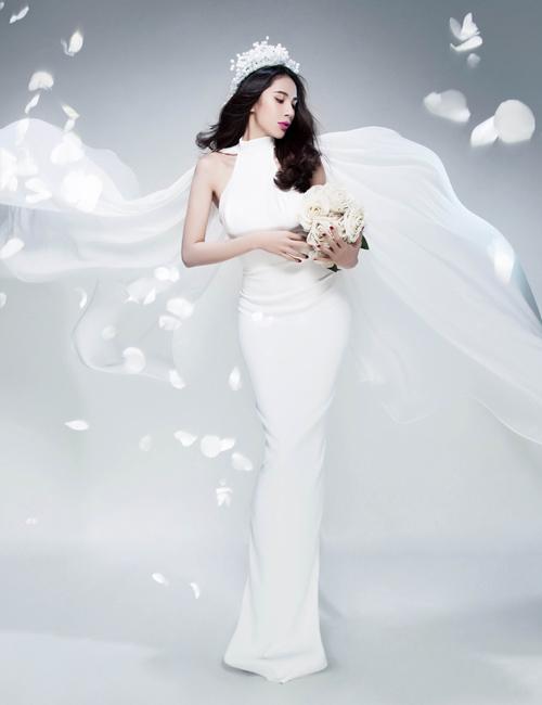Thủy Tiên tung ảnh cô dâu úp mở đám cưới - 4